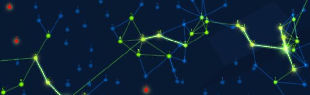 Wide gameplay shot of Hackey: the Hackening