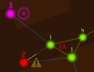 Screenshot showing HUD Markers in Hackey
